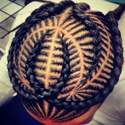 mens cornrow styles