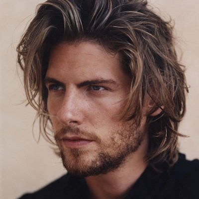 mens curly wavy bob hair