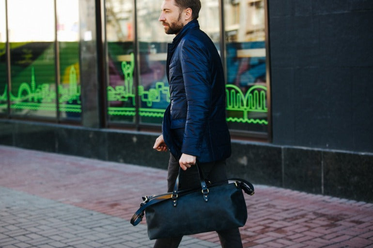 mens gym bag street style