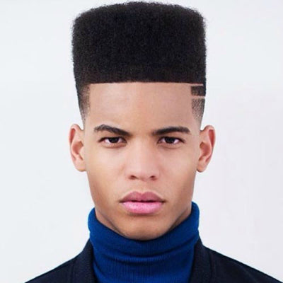 mens flat top hairstyle