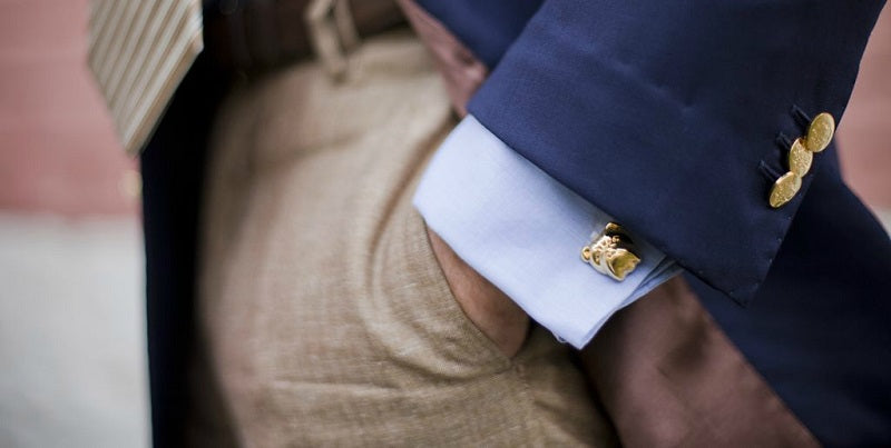 mens french cufflinks