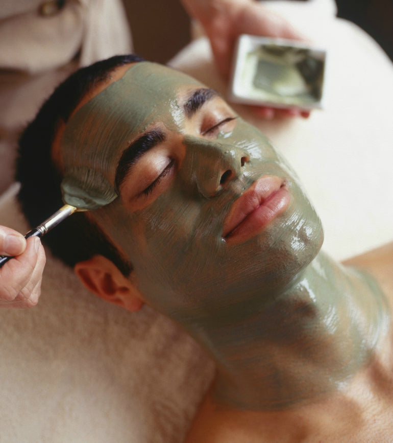 mens-green-face-mask-skin-care