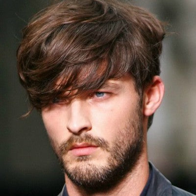 mens dishevelled hairstyles