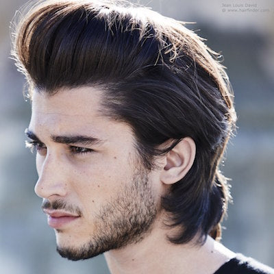 mens long quiff