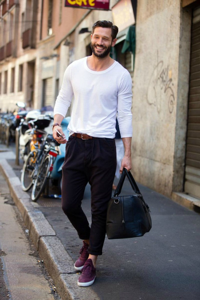 mens-oxblood-trainers-chinos-trainers-casual-street-style