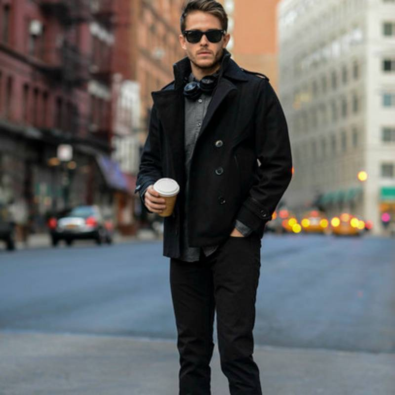 mens-pea-coat-black-jeans