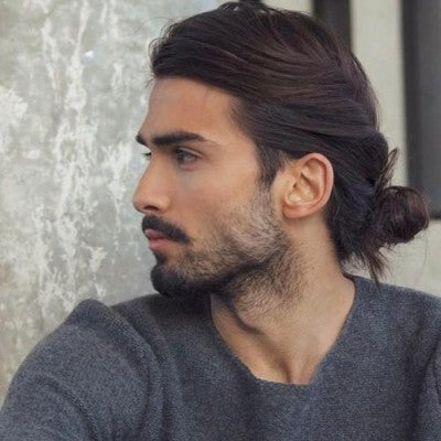 cd3d6eed20203 There are also lots of looks for men with long hair that allow you to keep  certain parts of your look short whilst growing out the rest.