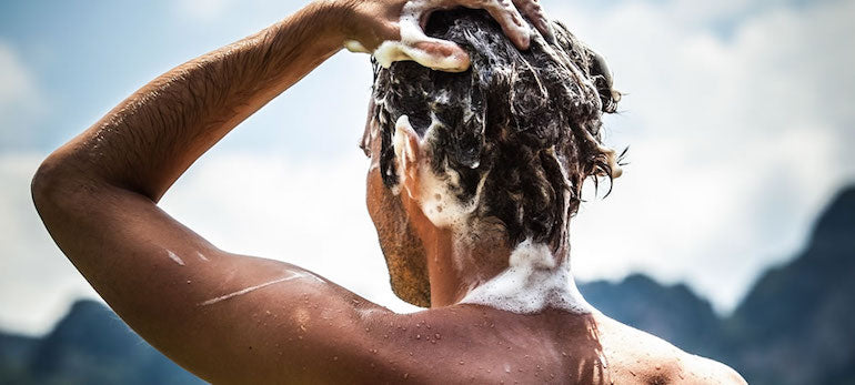 mens shampoo thick hair wash
