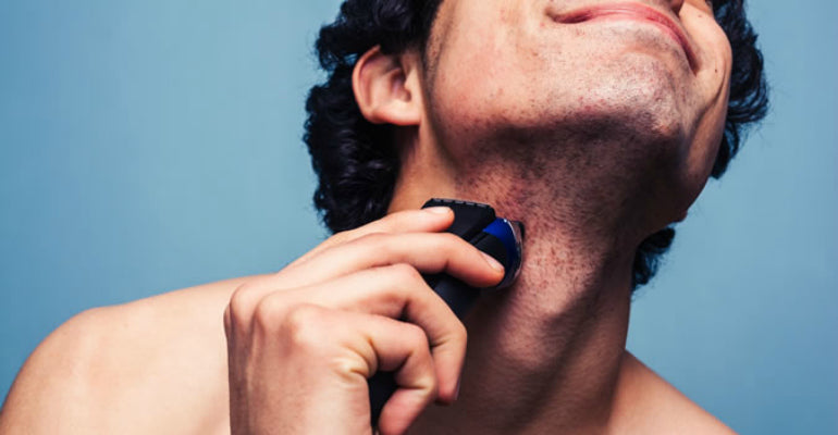 mens shaving irritation