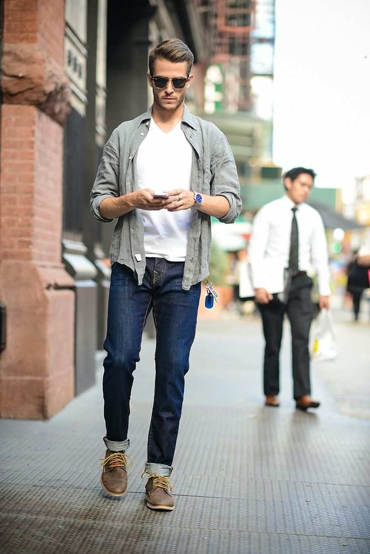 mens shirts street style mens rolled sleeve street style