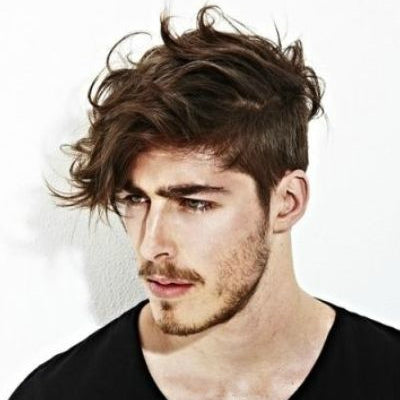 Hairstyles For Men With Curly Hair Long 74