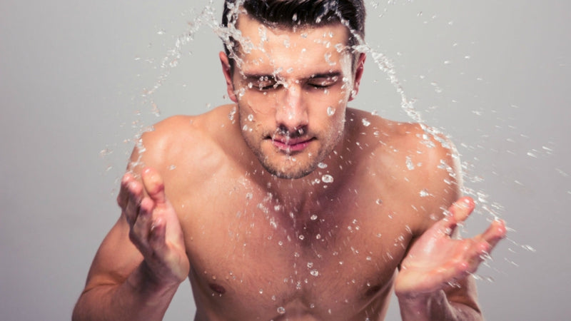 mens skin care wash face