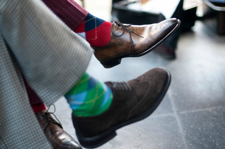 mens-socks-patterned-dress-socks