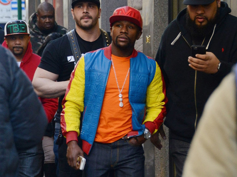mens street style floyd mayweather outfit