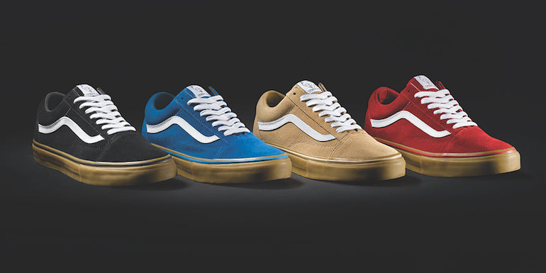 mens street style golf wang vans red gum black gumblue gum beige gum