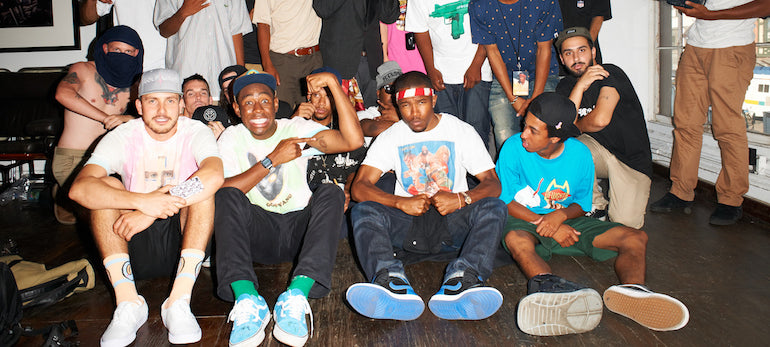 mens street style odd future group picture