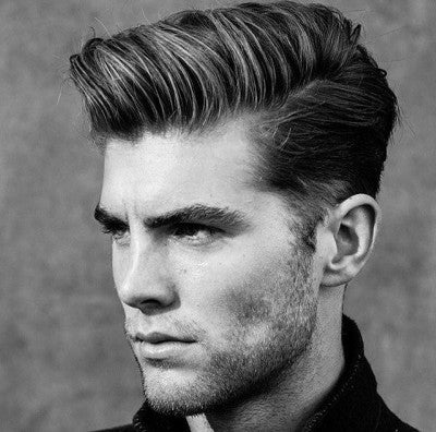 mens summer hairstyle side part