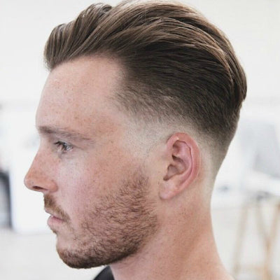 mens taper fade cut