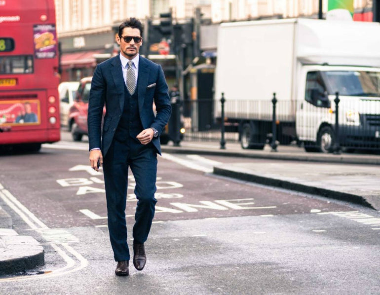 mens-three-piece-suit-blue-smart-street-style