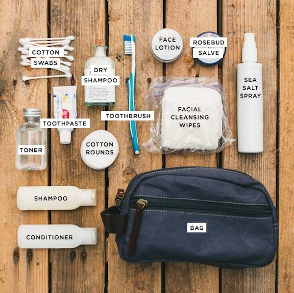 mens toiletries how to pack a bag travel