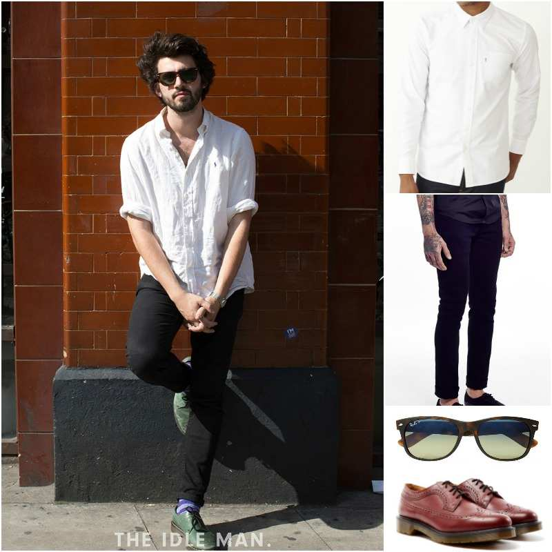 30650c95 SHOP THE LOOK: Levi's - Shirts | The Idle Man - Jeans | Ray-
