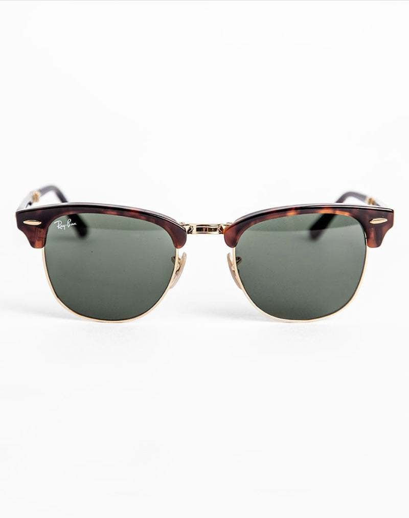 RAY-BAN Iconic Folding Clubmaster Sunglasses RB2176 990 men