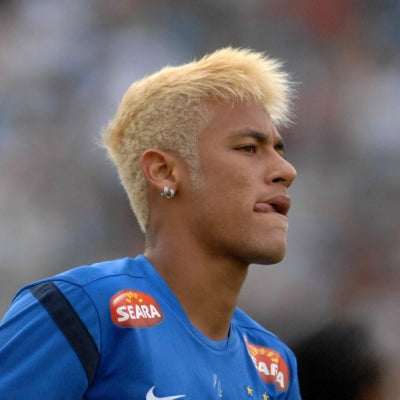 neymar mens blonde hair