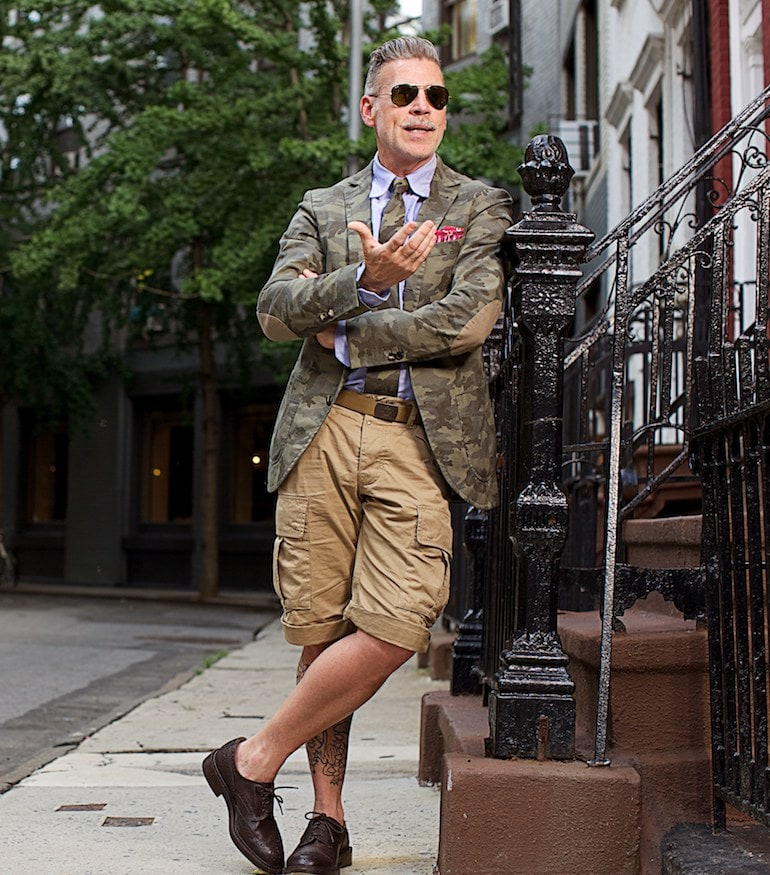 nick wooster cargo shorts mens-min