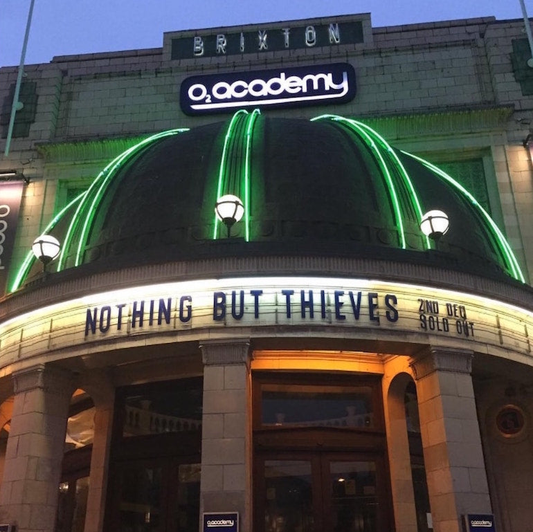 nothing but thieves sold out brixton academy mens street style