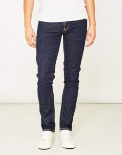 nudie mens jeans blue