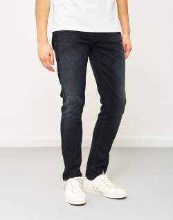 nudie jeans co lean dean hidden ink jeans black