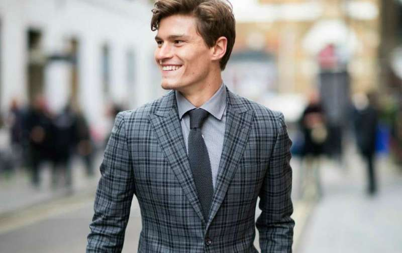 oliver cheshire pattern suit look