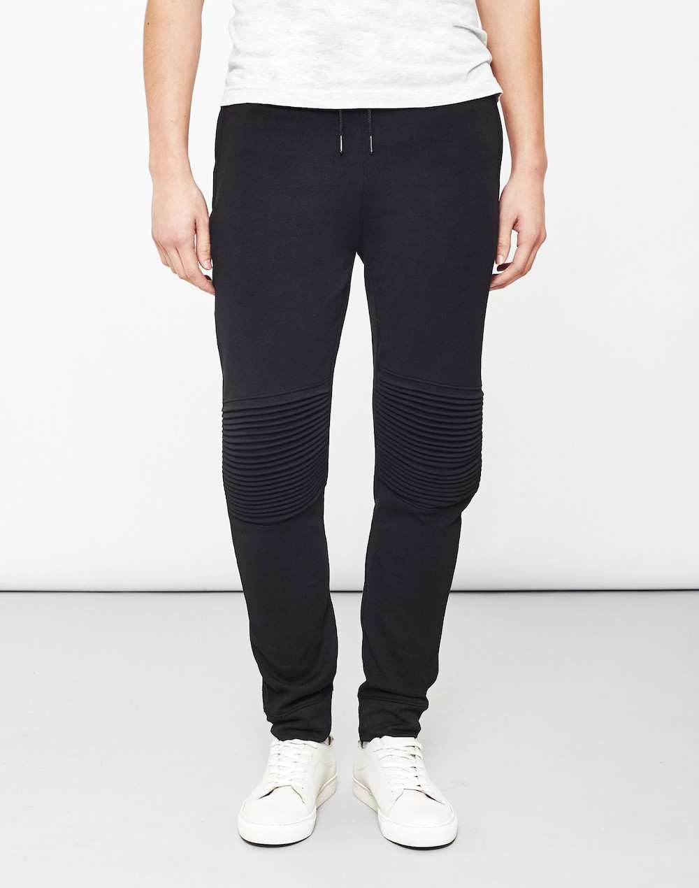 only and sons mens black joggers