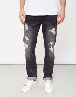 only and sons mens destroyed jeans