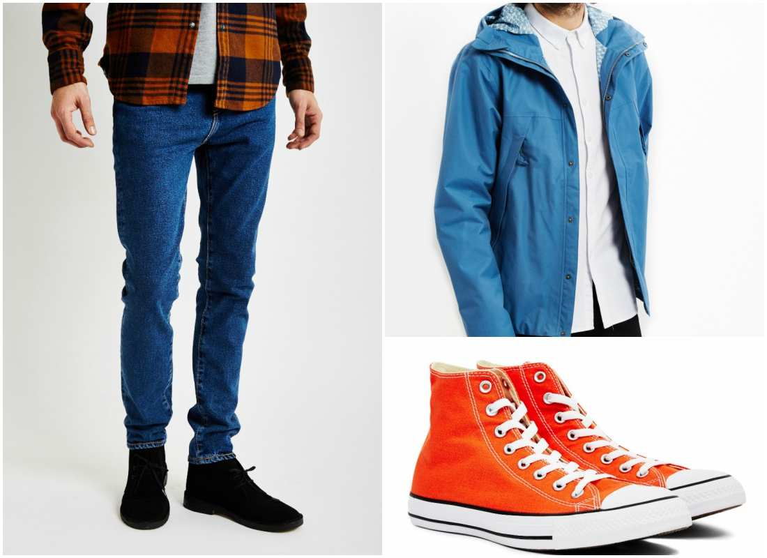 outfit grid three colours