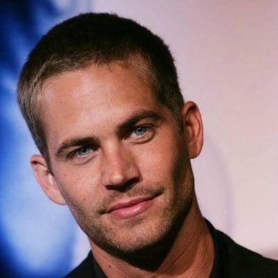 paul walker buzz cut thick hair men