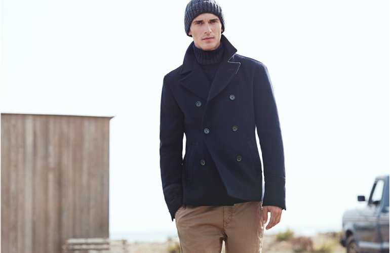 peacoat outfits mens