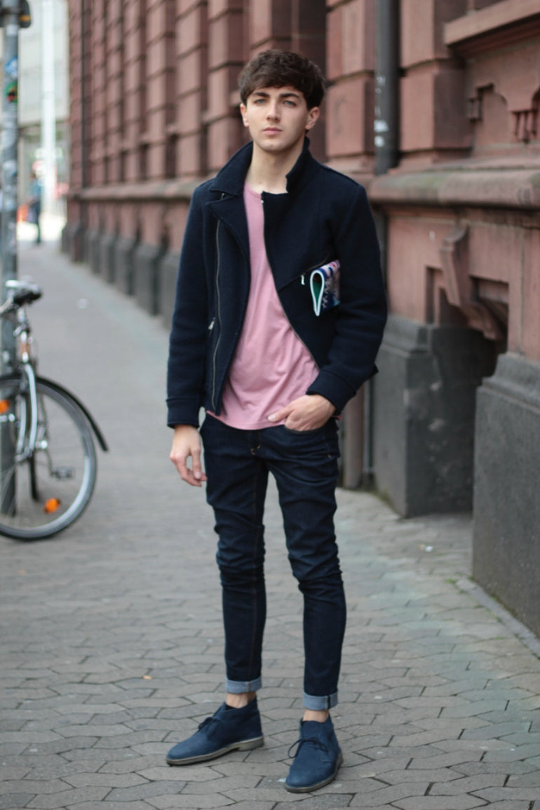 af91044d79b ... pink t-shirt for men how to wear pink for men street style
