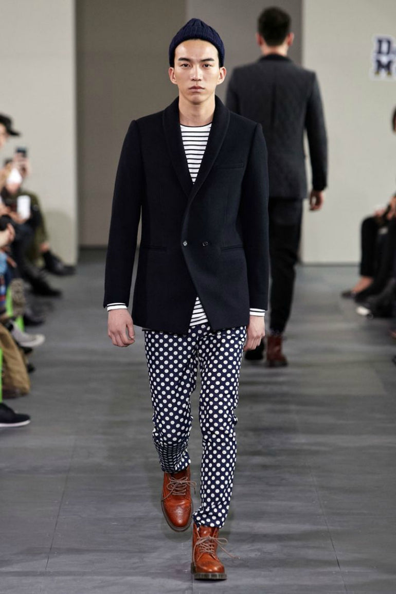polka dot trousers for men how to wear polka dot trousers mens street style