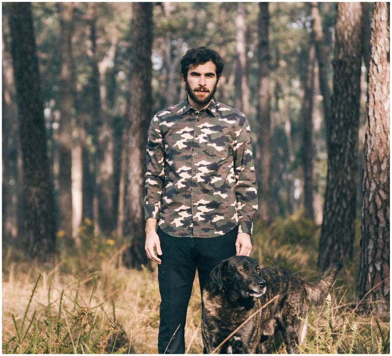 portuguese flannel camo style shirt mens style