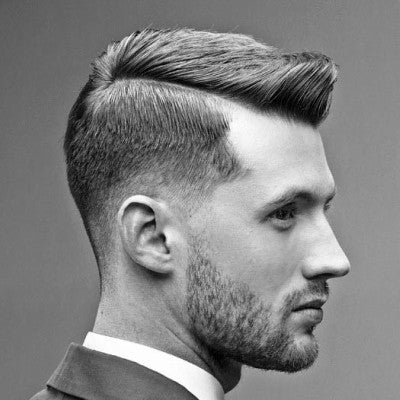 professional classy mens hard part hairstyles
