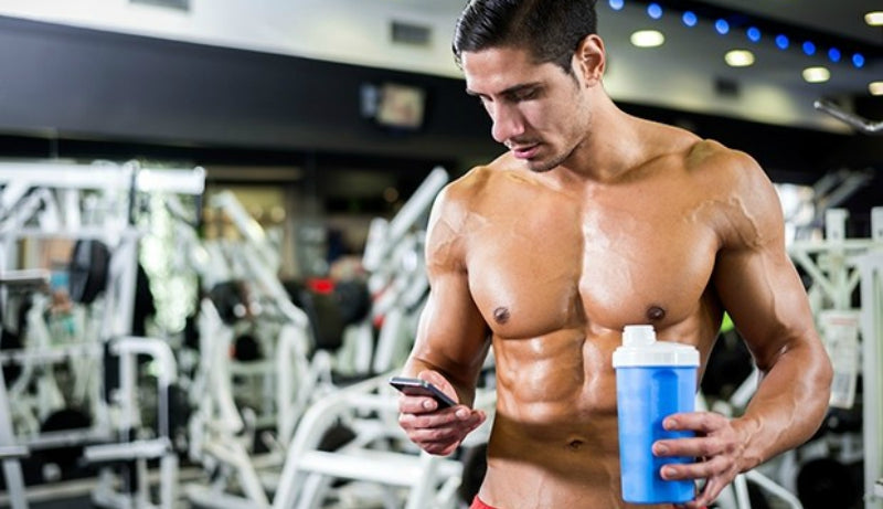 protein shakes hair loss men