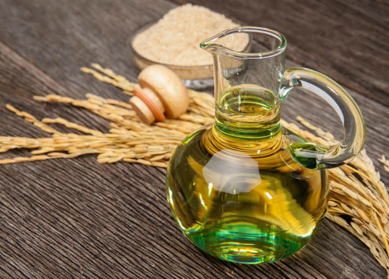 Rice bran oil is good for your skin