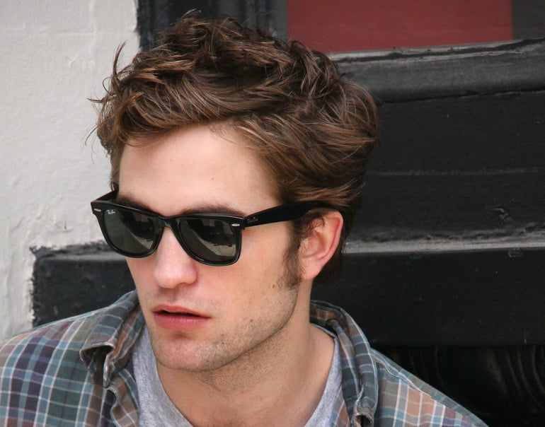 robert pattinson ray ban wayfarer