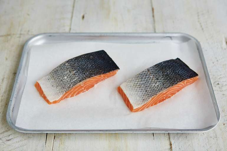 salmon fillets to prevent balding in men