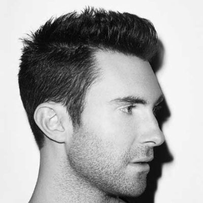 short thick hair pompadour look for men