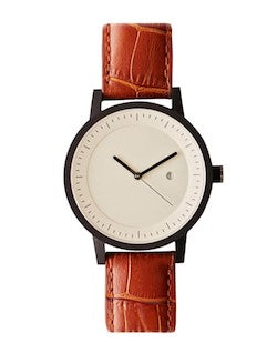 simple watch tan for men