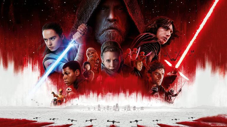 star wars the last jedi film 2017
