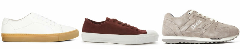 suede trainers grid