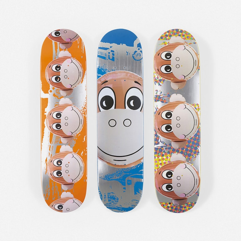 supreme jeff koons skateboards -min